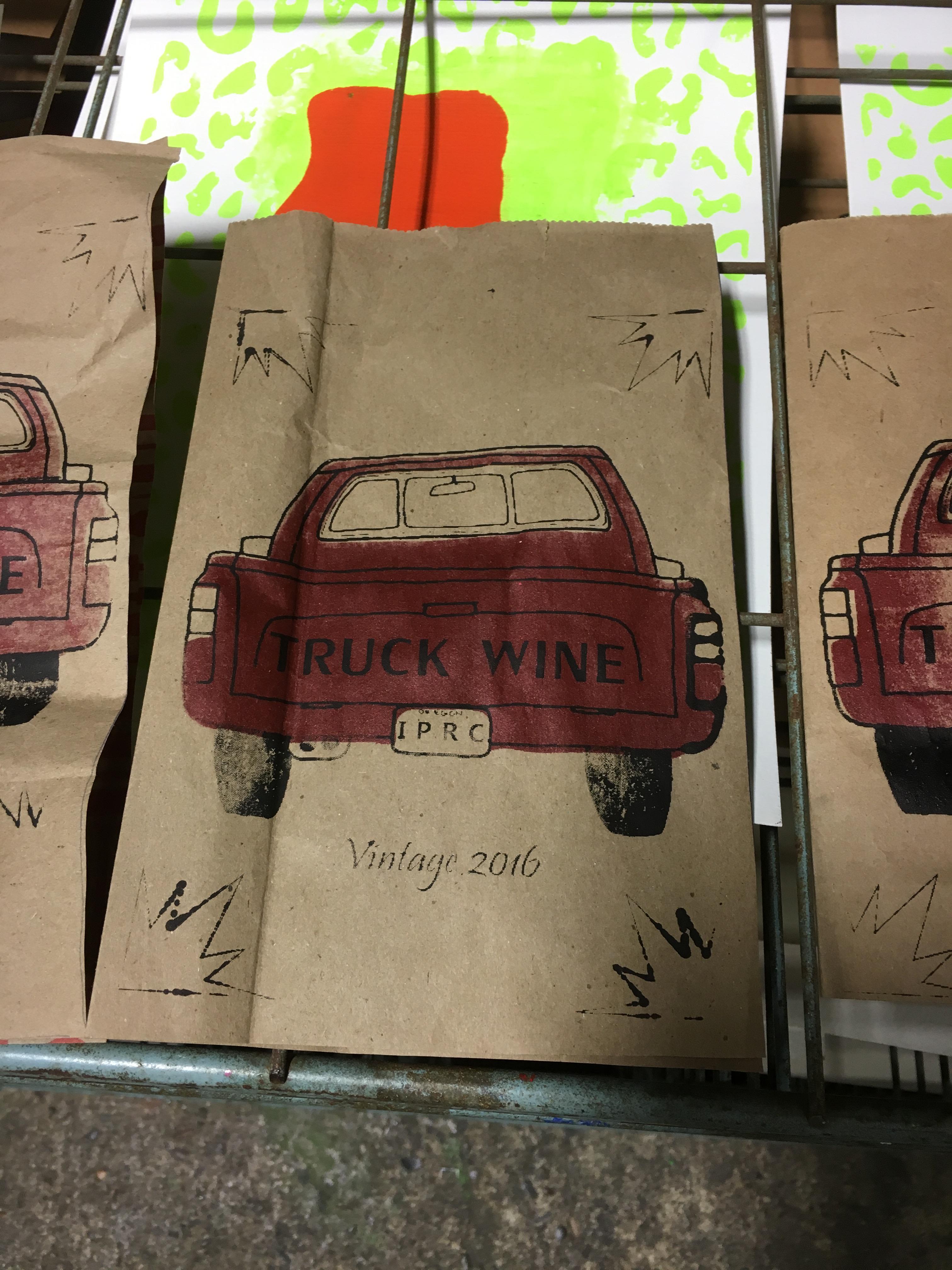 truck wine